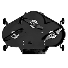IBS rear discharge cutter deck