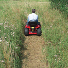 Westwood garden tractors fitted with a High Grass mulching deck will tackle tall grass, nettles and bramble