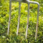 Aeration is important for a healthy lawn